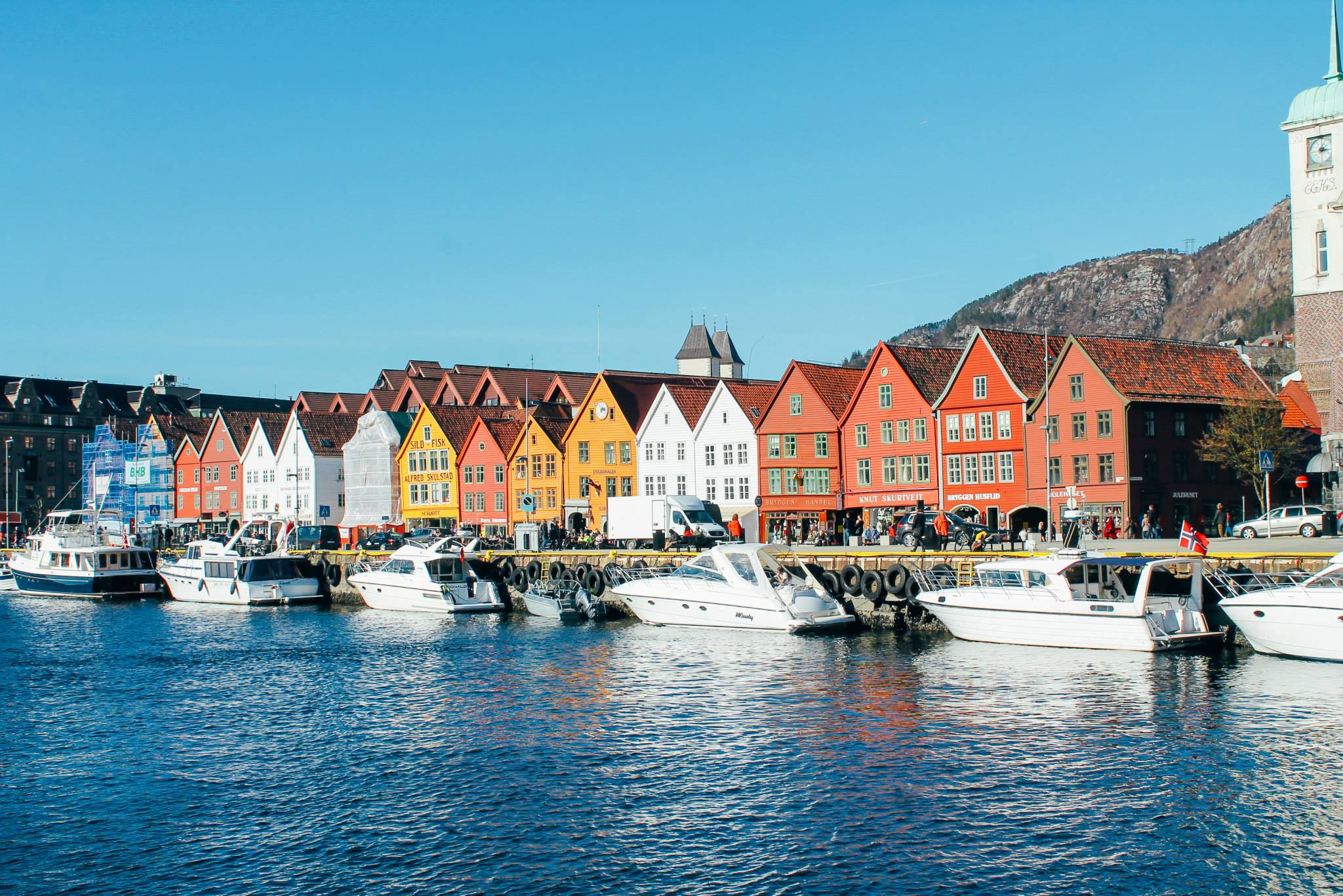 The UNESCO World Heritage Site of Bryggen... In Bergen, Norway. (16)