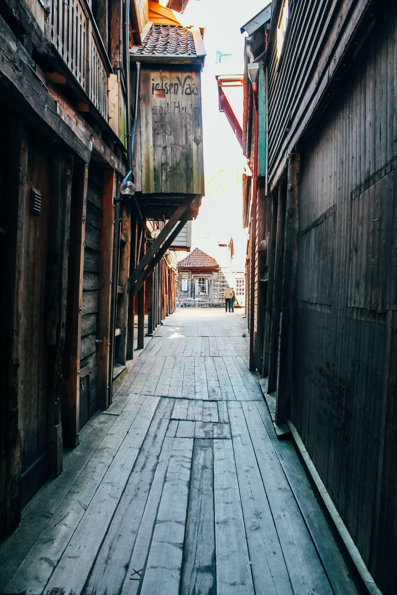 The UNESCO World Heritage Site of Bryggen... In Bergen, Norway. (22)