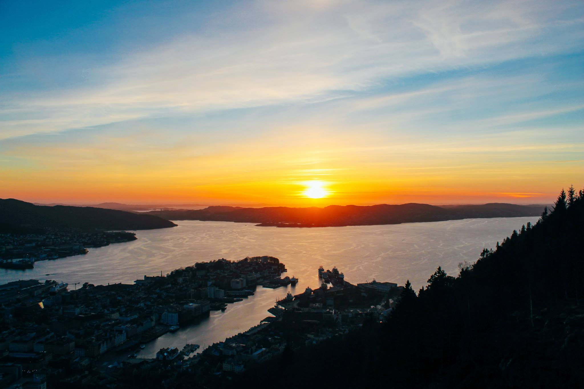 This Is The Best View In Bergen (And One Of The Best In The World)!!! Mount Fløyen and the Fløibanen funicular (31)