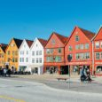 Exploring The World Heritage Site of Bryggen In Bergen, Norway.