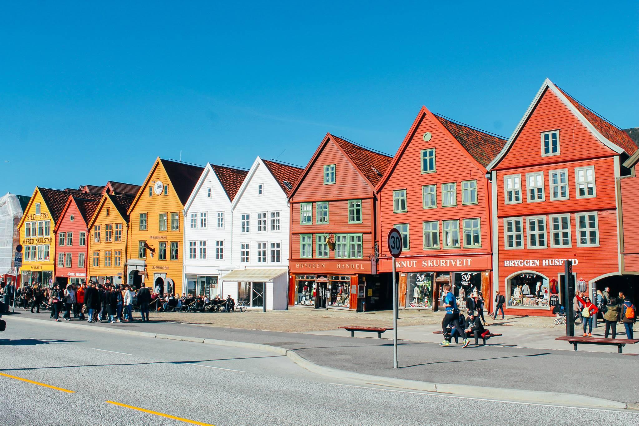 The UNESCO World Heritage Site of Bryggen... In Bergen, Norway. (20)