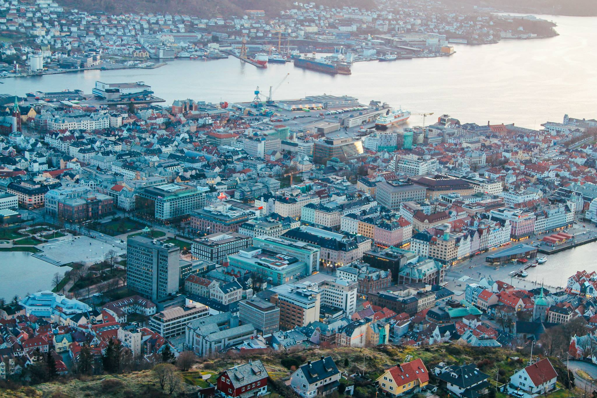 This Is The Best View In Bergen (And One Of The Best In The World)!!! Mount Fløyen and the Fløibanen funicular (34)