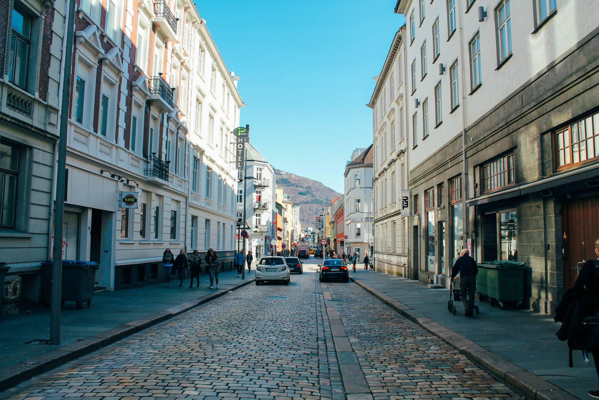 The UNESCO World Heritage Site of Bryggen... In Bergen, Norway. (4)