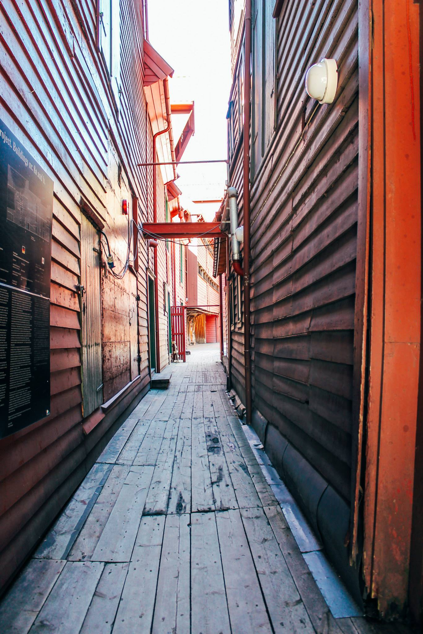 The UNESCO World Heritage Site of Bryggen... In Bergen, Norway. (21)