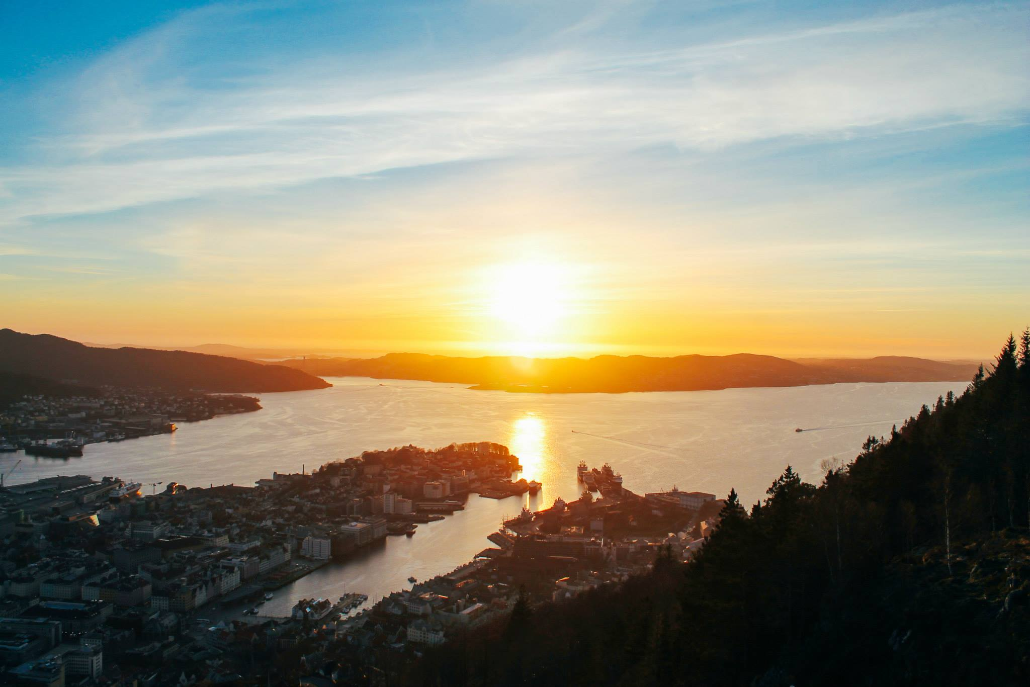 This Is The Best View In Bergen (And One Of The Best In The World)!!! Mount Fløyen and the Fløibanen funicular (22)