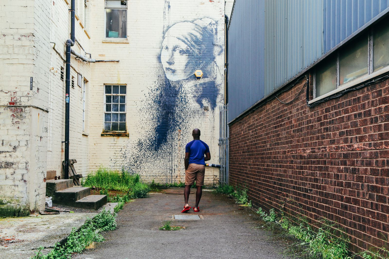 The Harbour Festival, Banksy, Steam Trains & The Girl With The Pierced Ear Drum... in Bristol, UK (6)