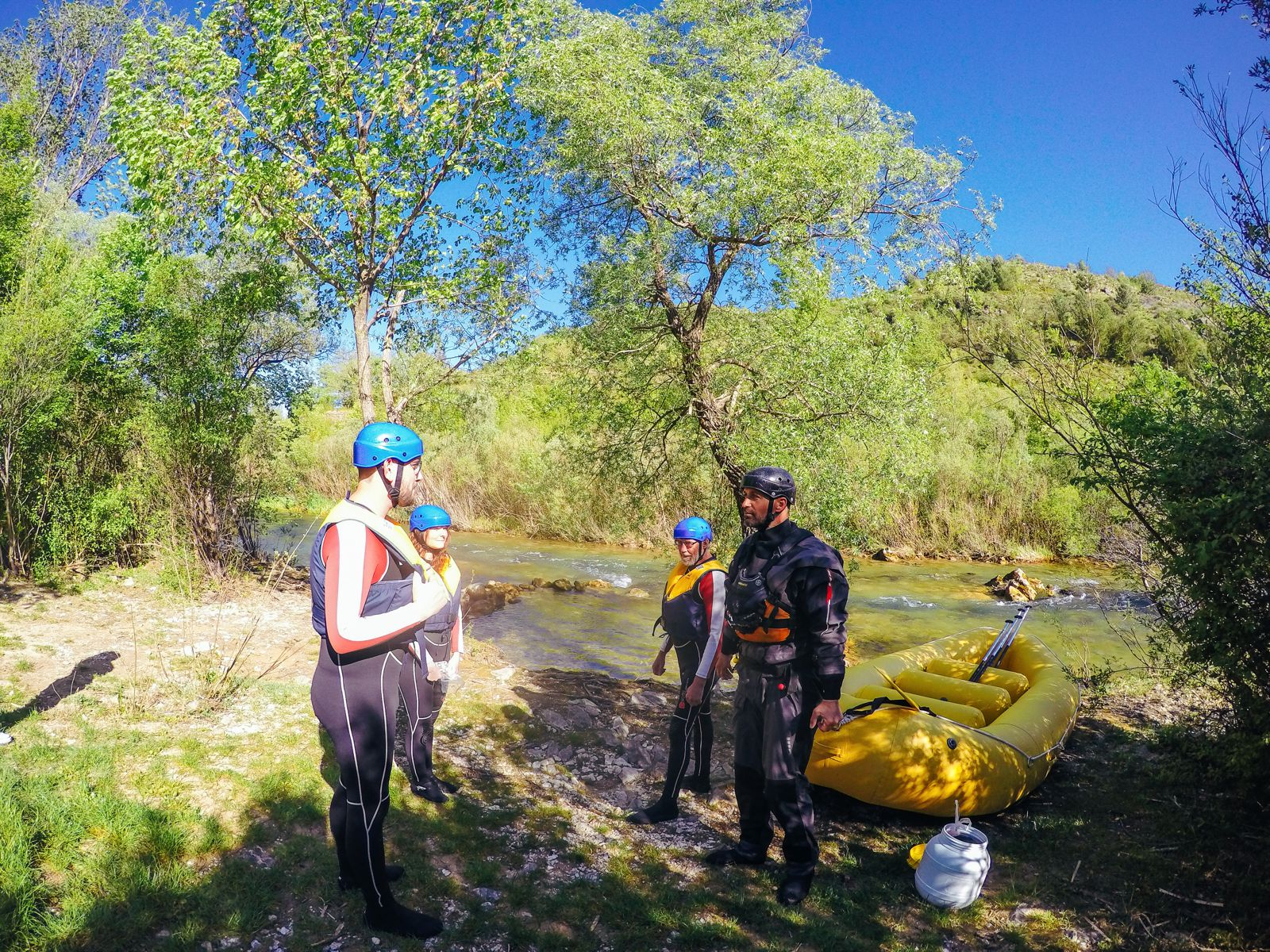 White Water Rafting On The Cetina River... In Croatia (15)