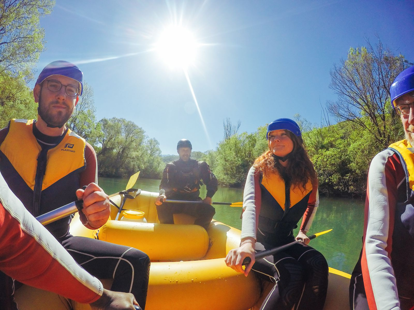 White Water Rafting On The Cetina River... In Croatia (20)