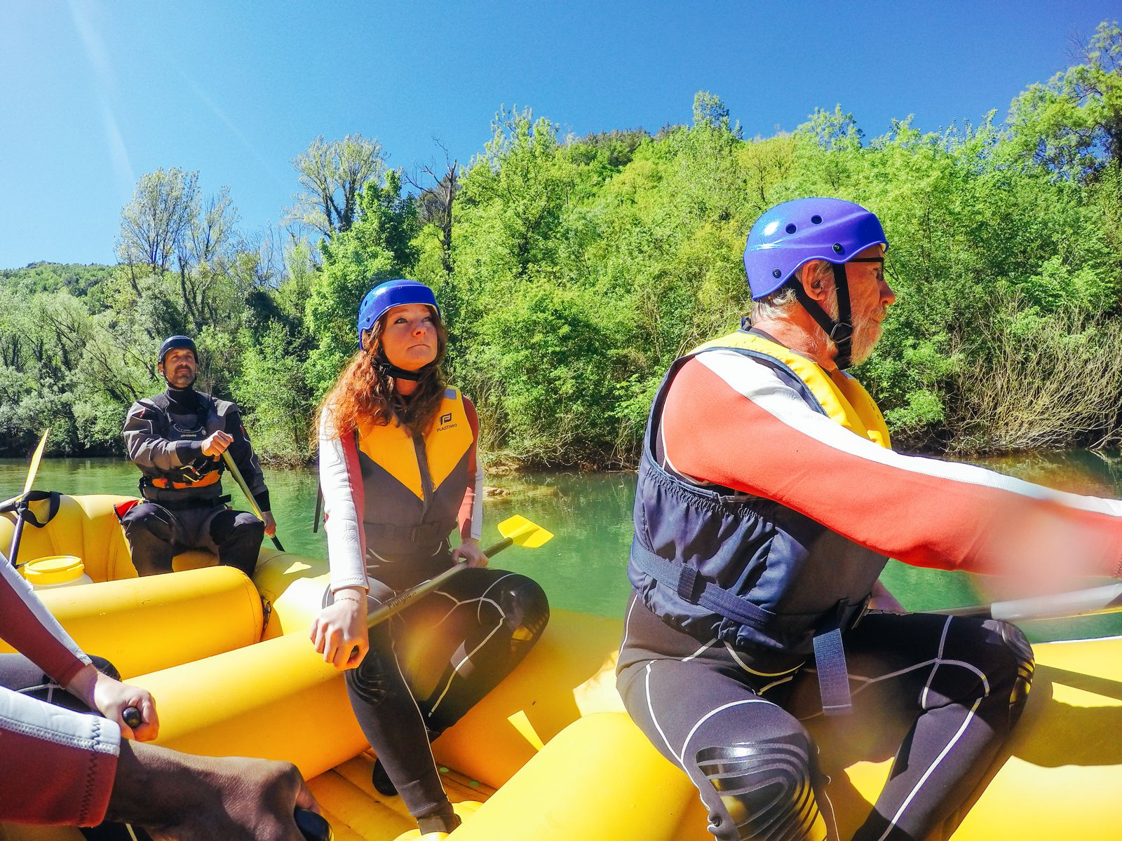 White Water Rafting On The Cetina River... In Croatia (21)