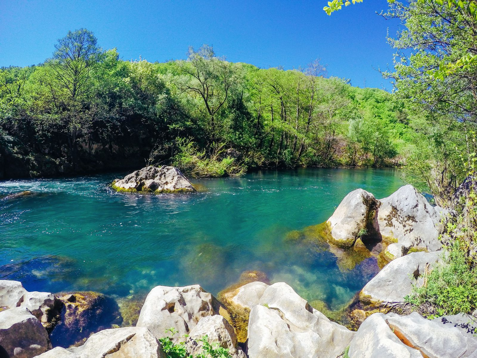 White Water Rafting On The Cetina River... In Croatia (28)