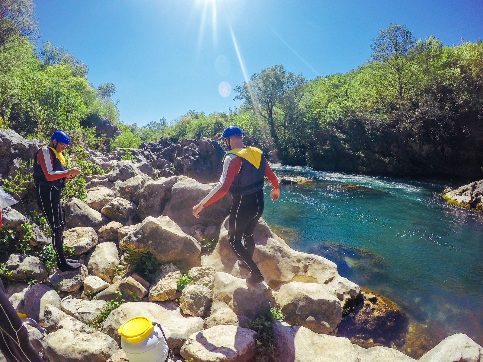 White Water Rafting On The Cetina River... In Croatia (29)