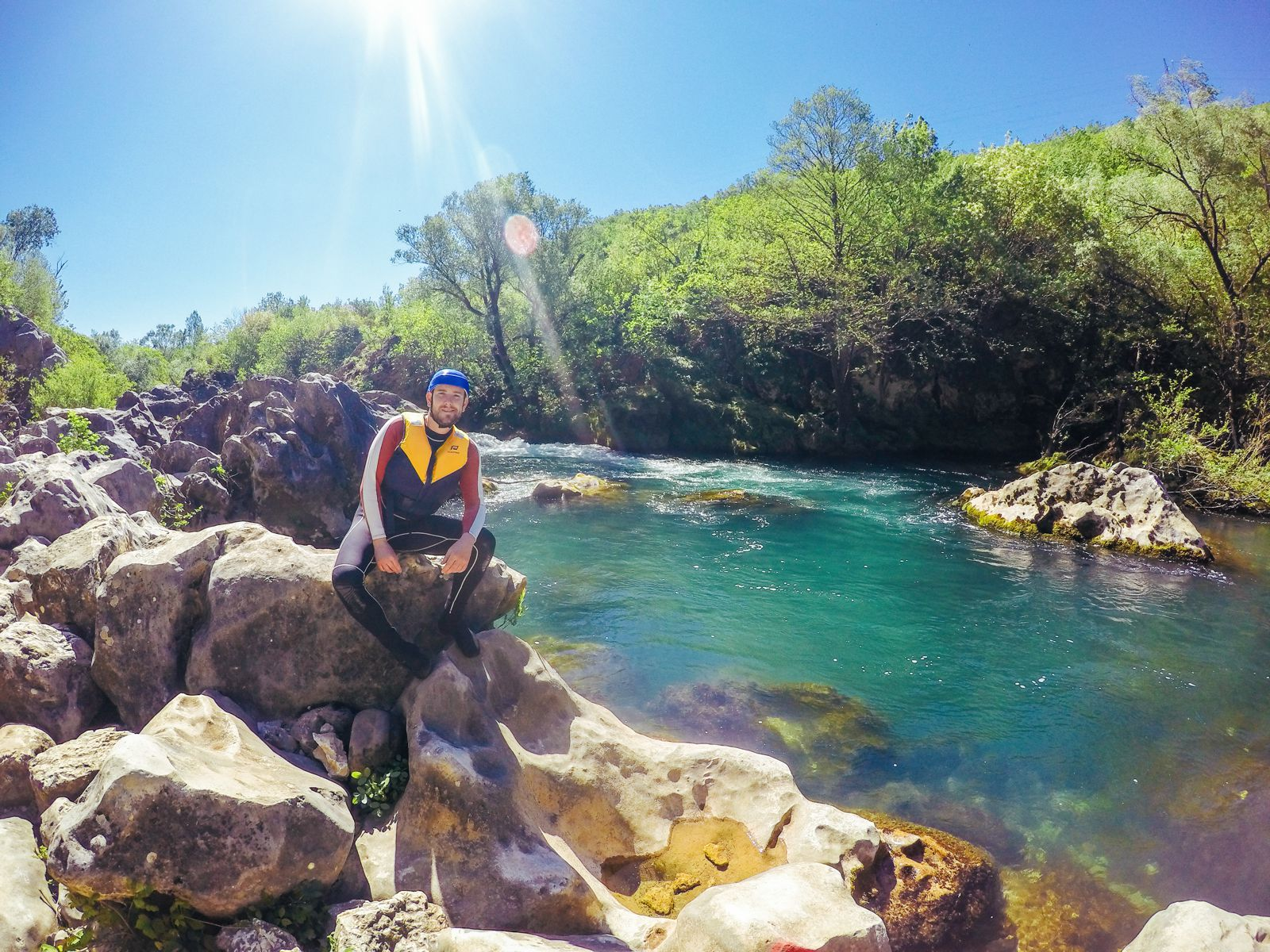 White Water Rafting On The Cetina River... In Croatia (30)