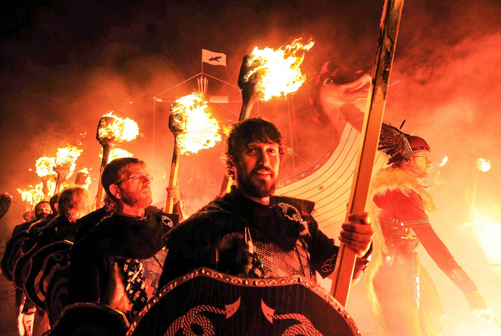 How To See An Authentic Viking Festival In Scotland (3)