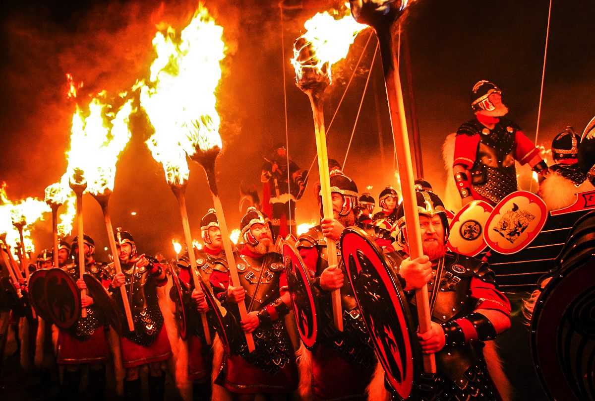 How To See An Authentic Viking Festival In Scotland (5)