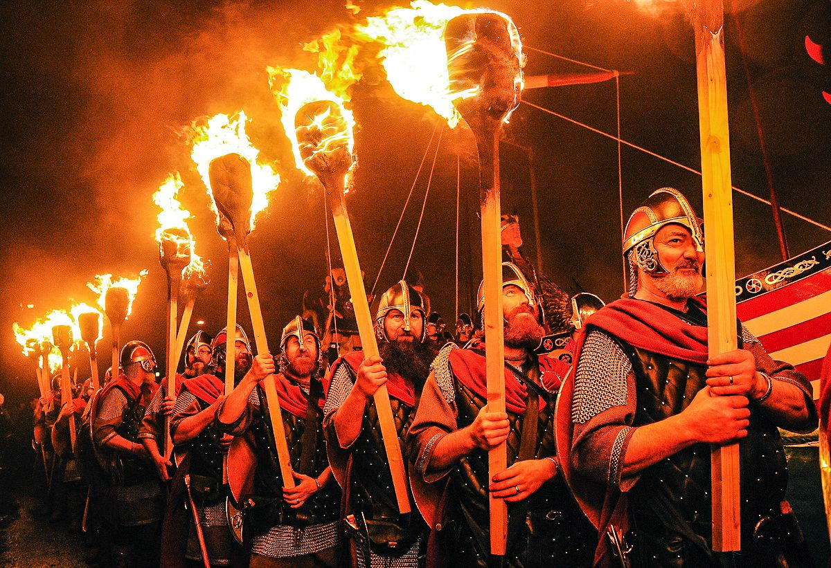 How To See An Authentic Viking Festival In Scotland (9)