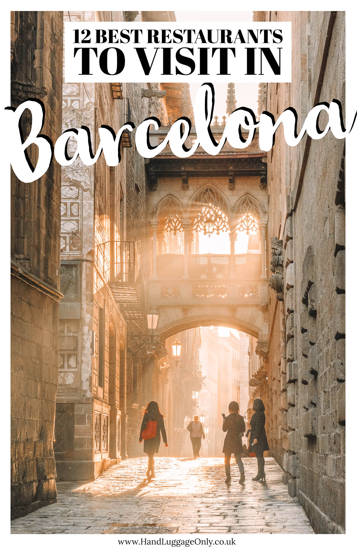 12 Of The Best Restaurants In Barcelona, Spain (1)