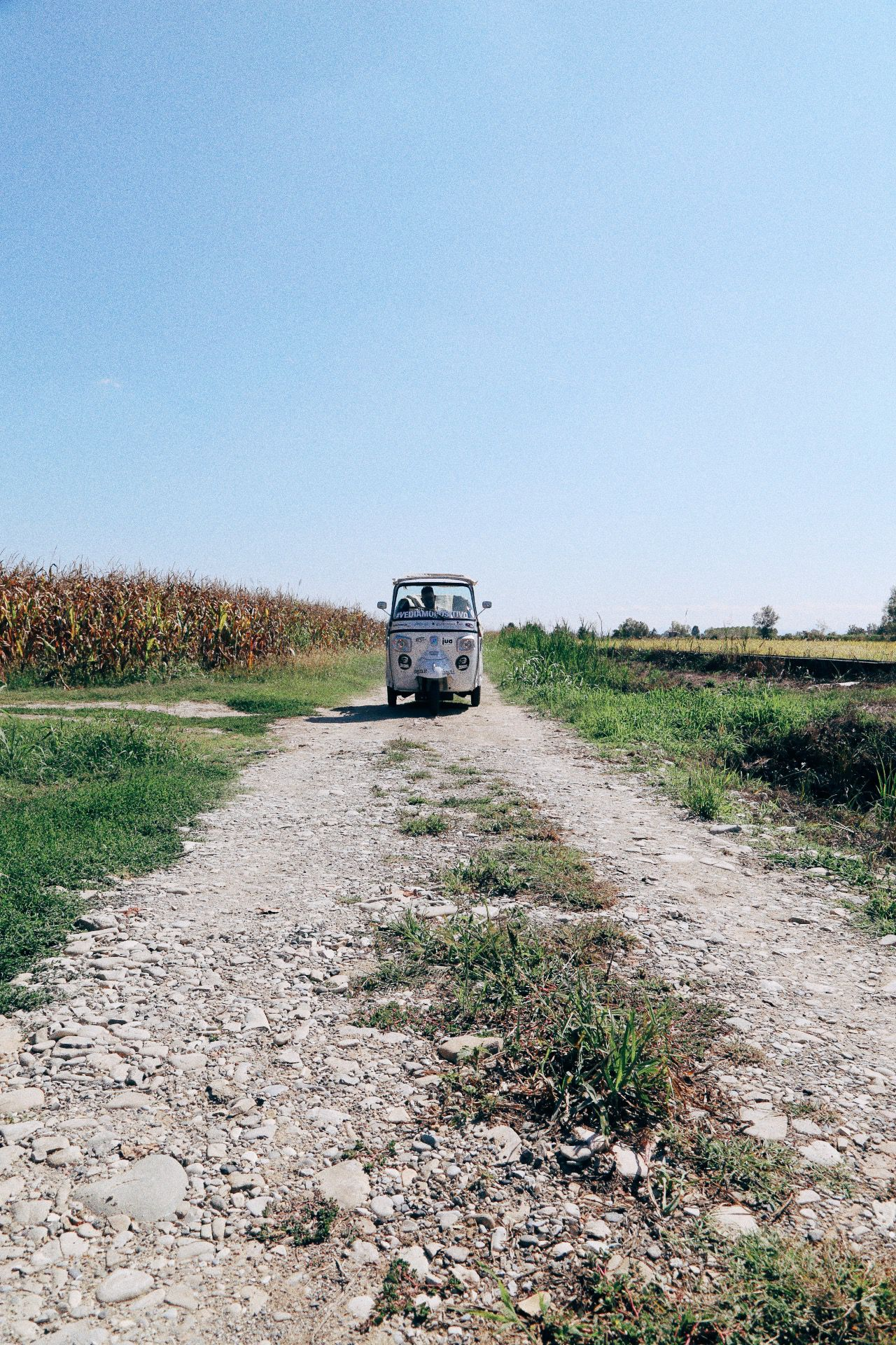 Driving Across Italy On A Rickshaw! Our Journey So Far... (4)