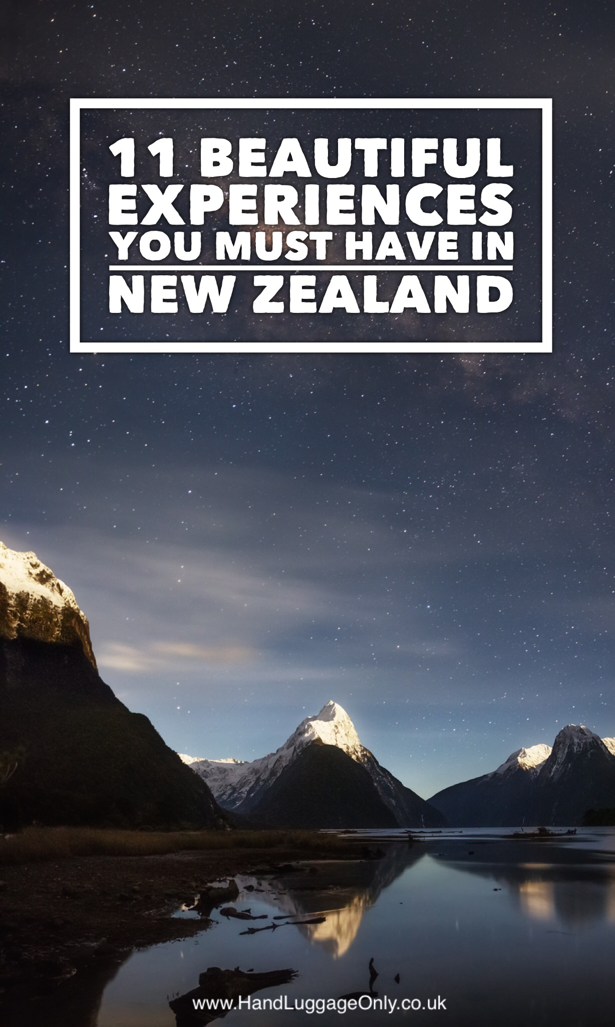 Experiences You Need To Have In New Zealand