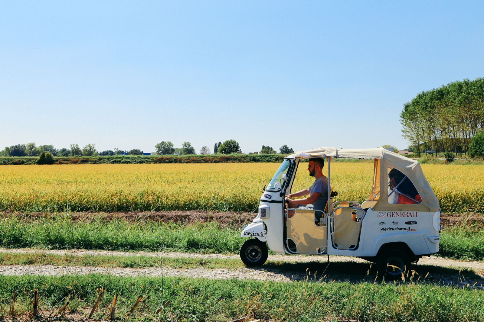 Photo Diary: Corn Fields And Open Roads... In Italy (1)