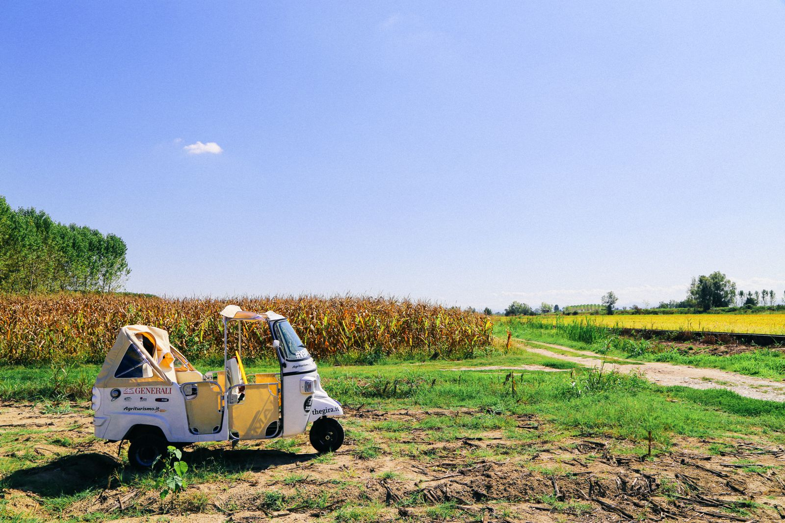 Photo Diary: Corn Fields And Open Roads... In Italy (3)