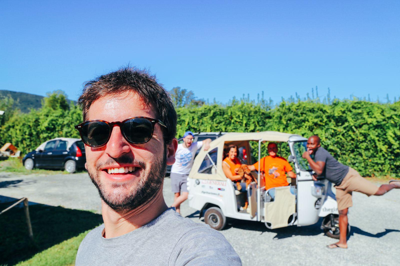 Cinque Terre To Pisa: Italy Road Trip On A Rickshaw (21)