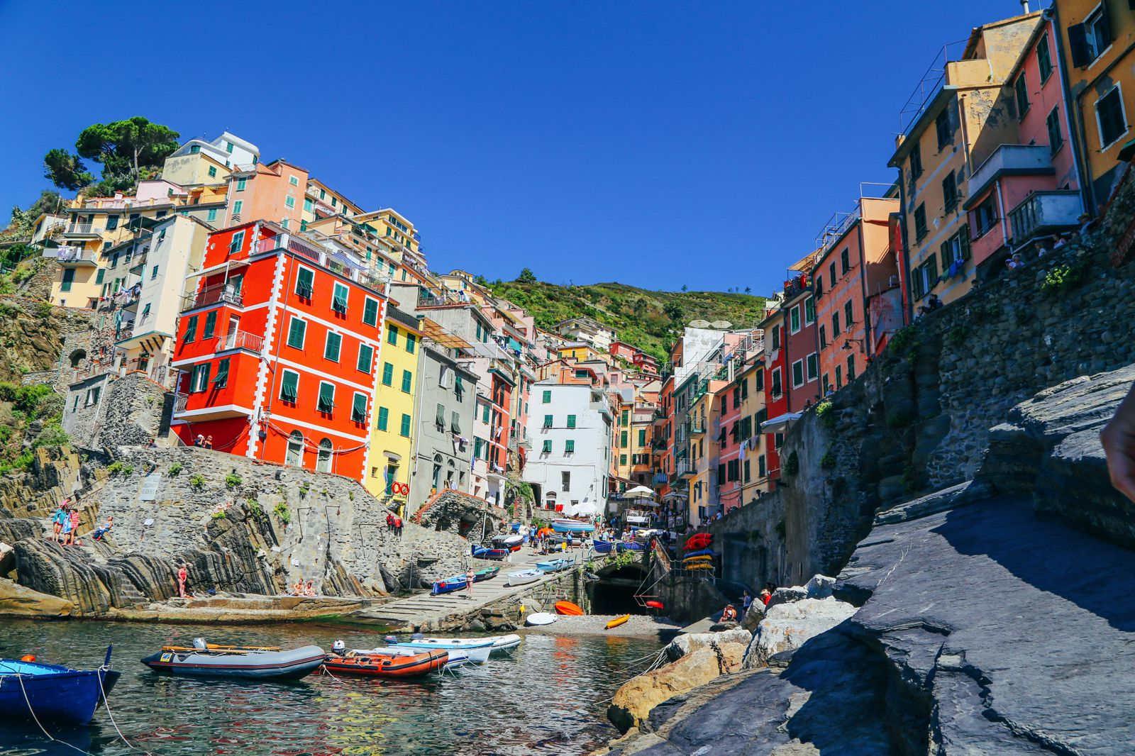Italian Language Courses Between Cinque Terre and Portofino