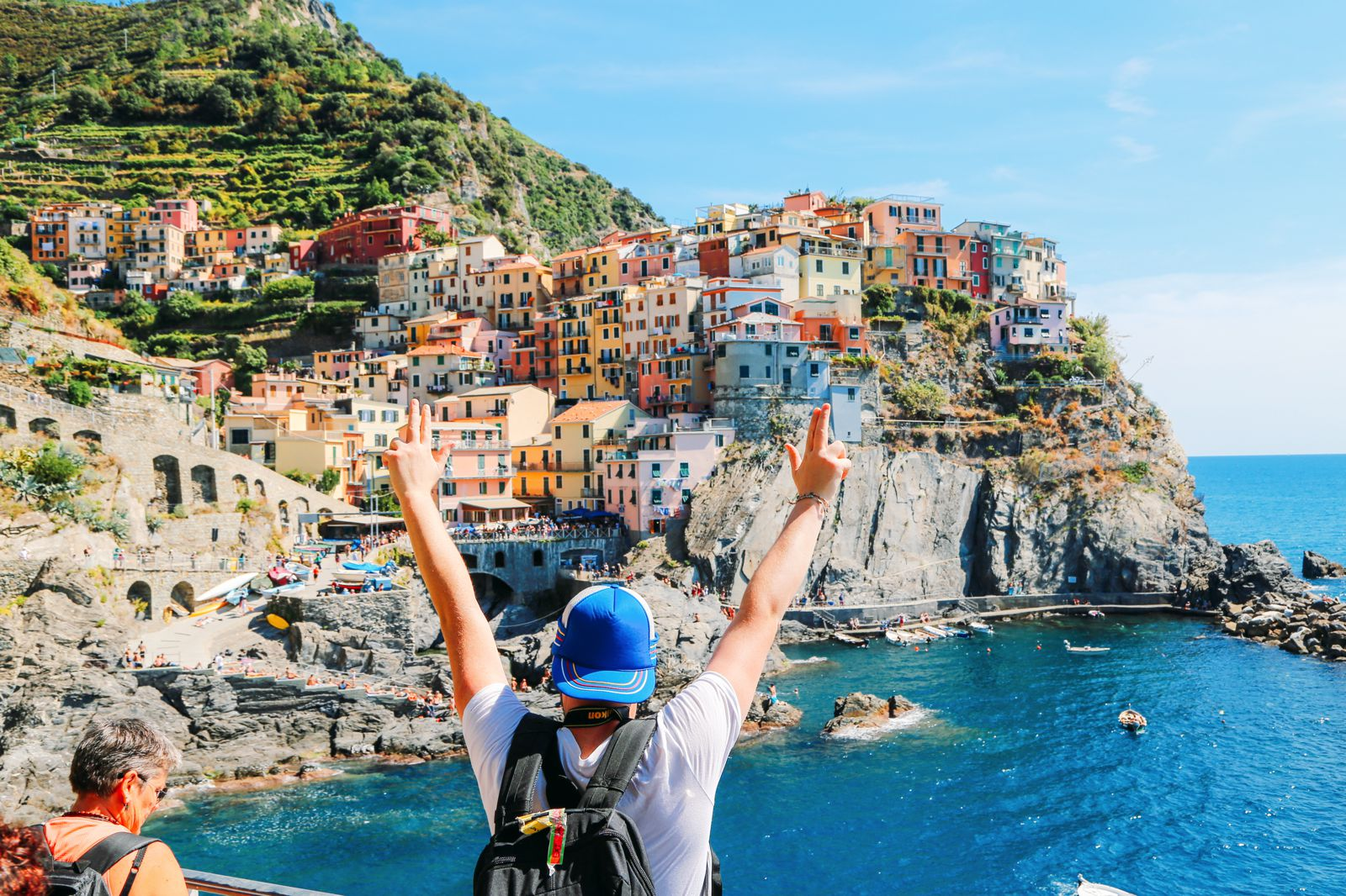 how to get to cinque terre from pisa
