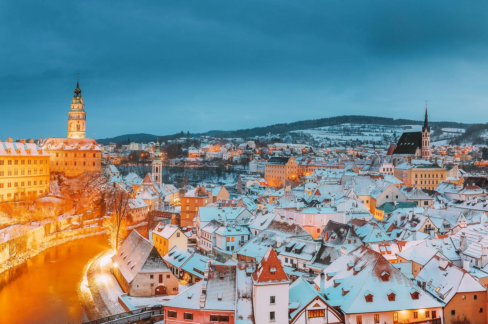 Winter Cities In Europe (5)