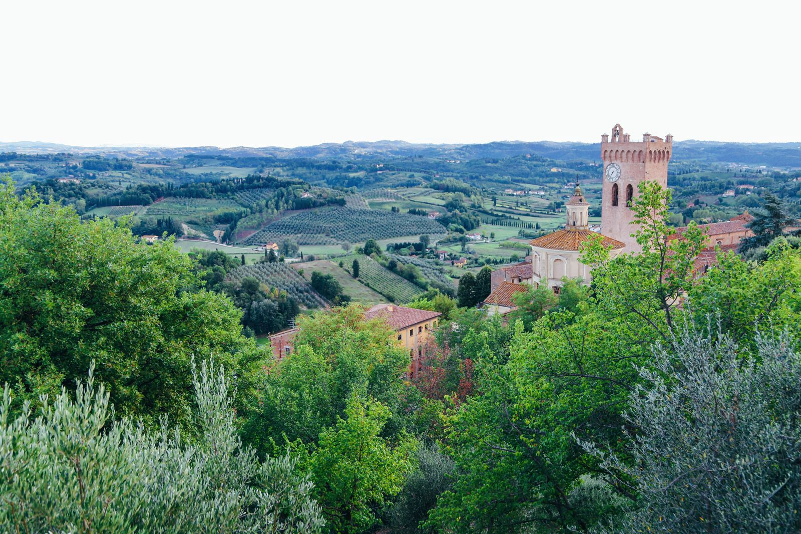 San Miniato And That Glorious Tuscany Sunset! (6)