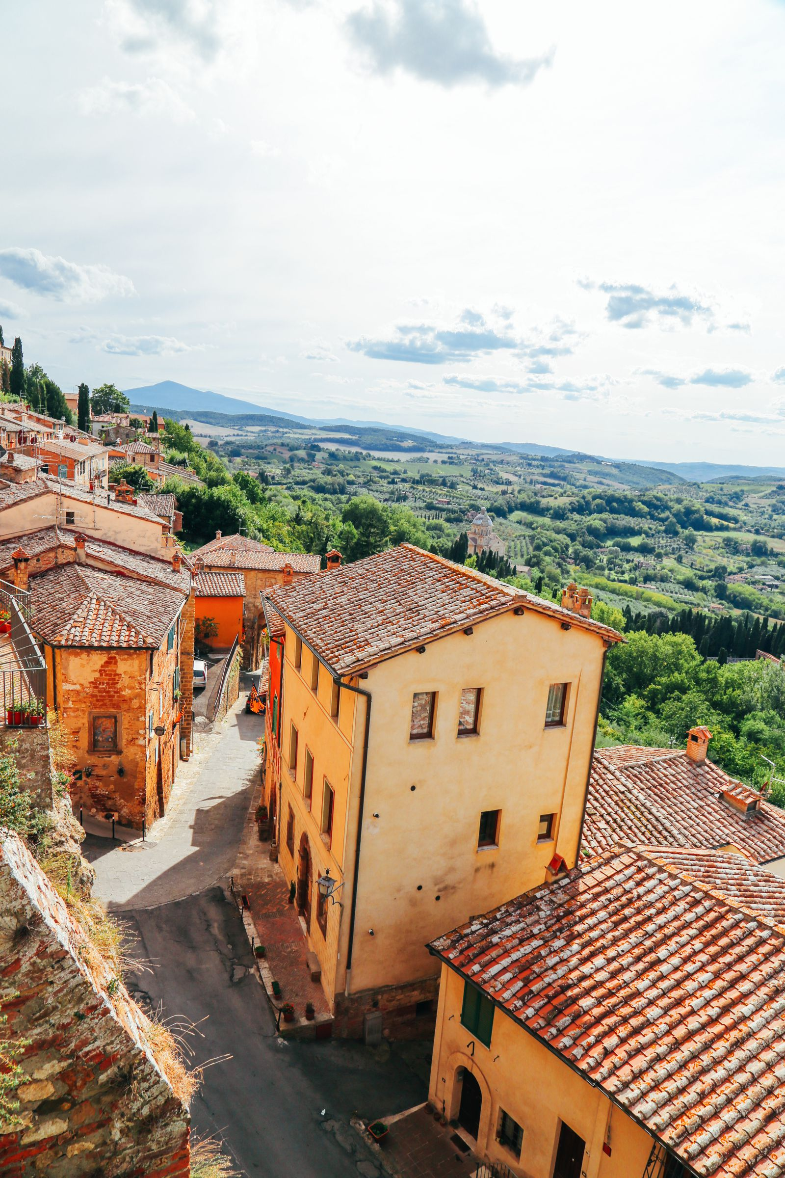 Montepulciano - The Italian Medieval Town In The Mountains... (1)