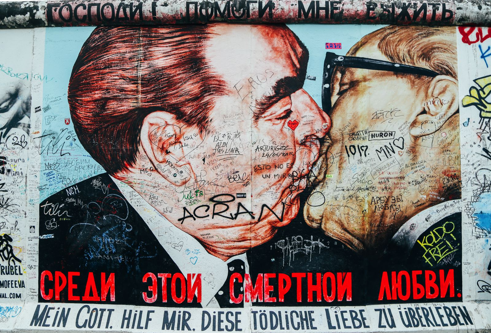 East Side Gallery, Berlin, Germany (12)
