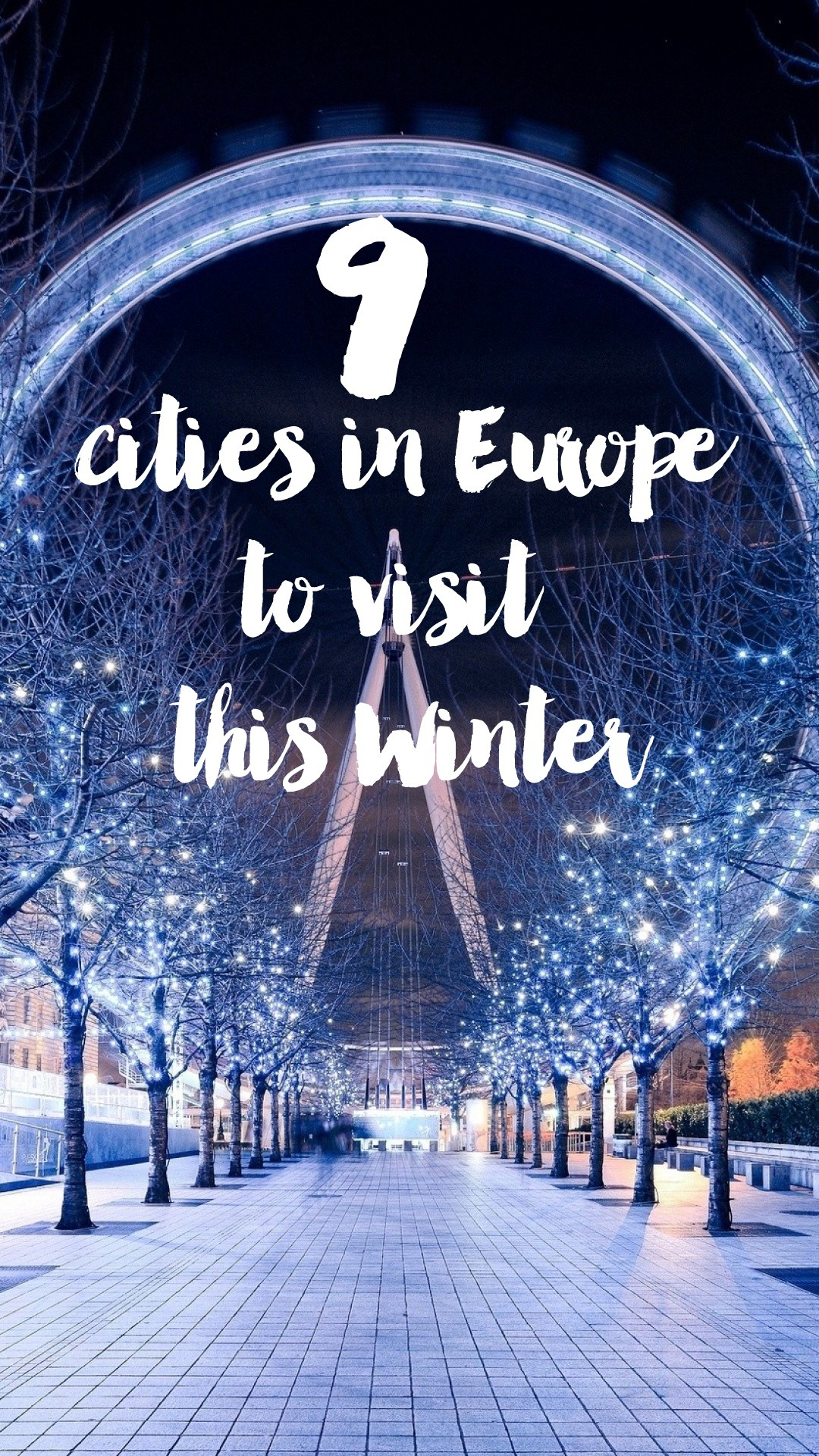 9 Cities In Europe You Have To Visit This Winter Hand Luggage Only Travel Food