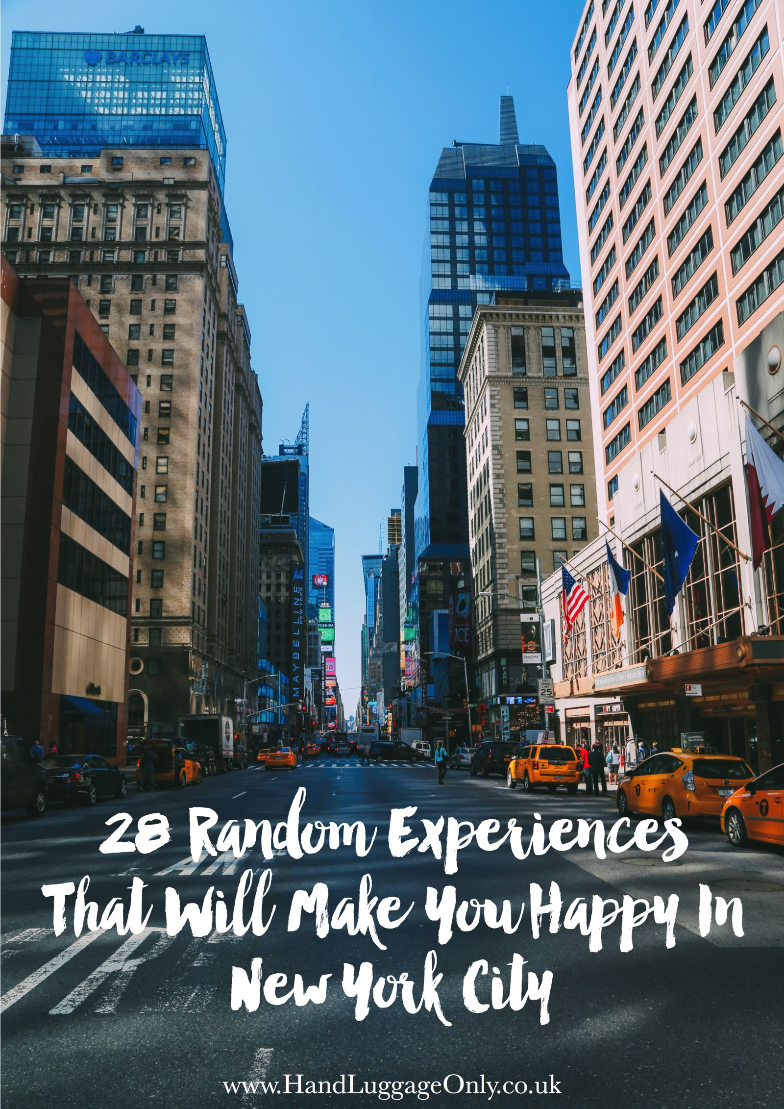28 Random Experiences That Will Make You Happy In New York City!