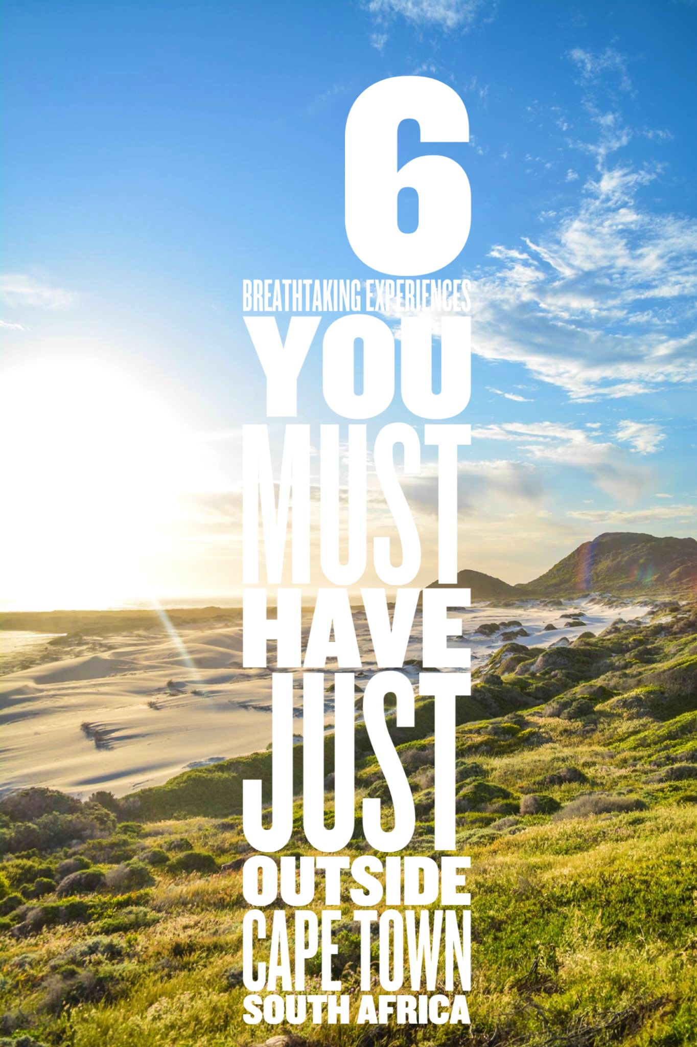 6 Breathtaking Experiences You Must Have Just Outside Of Cape Town, South Africa (1)