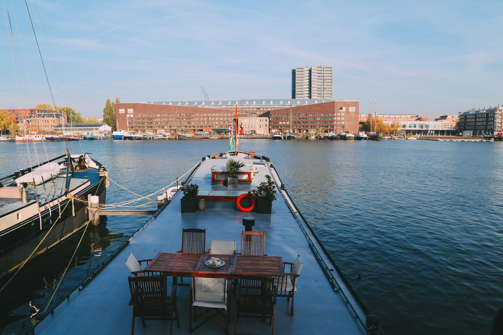 How To Stay On A Unique House Boat In Amsterdam, The Netherlands (15)