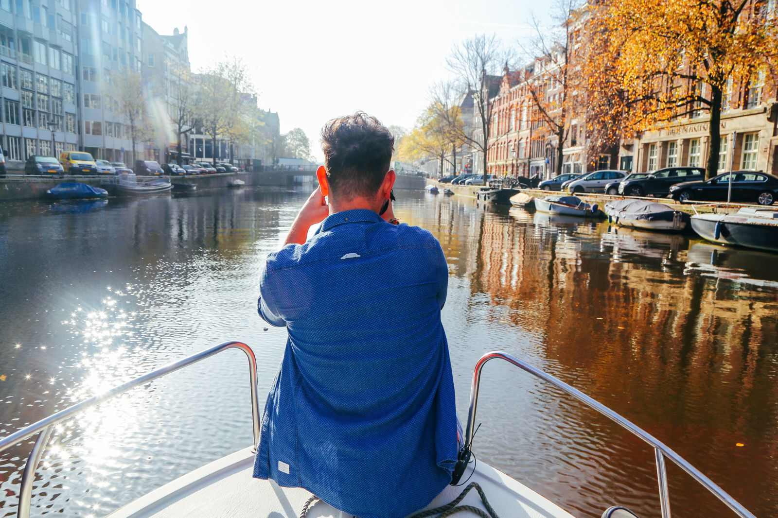 Exploring Amsterdam's Canal (By Driving A Boat For The First Time!) (6)
