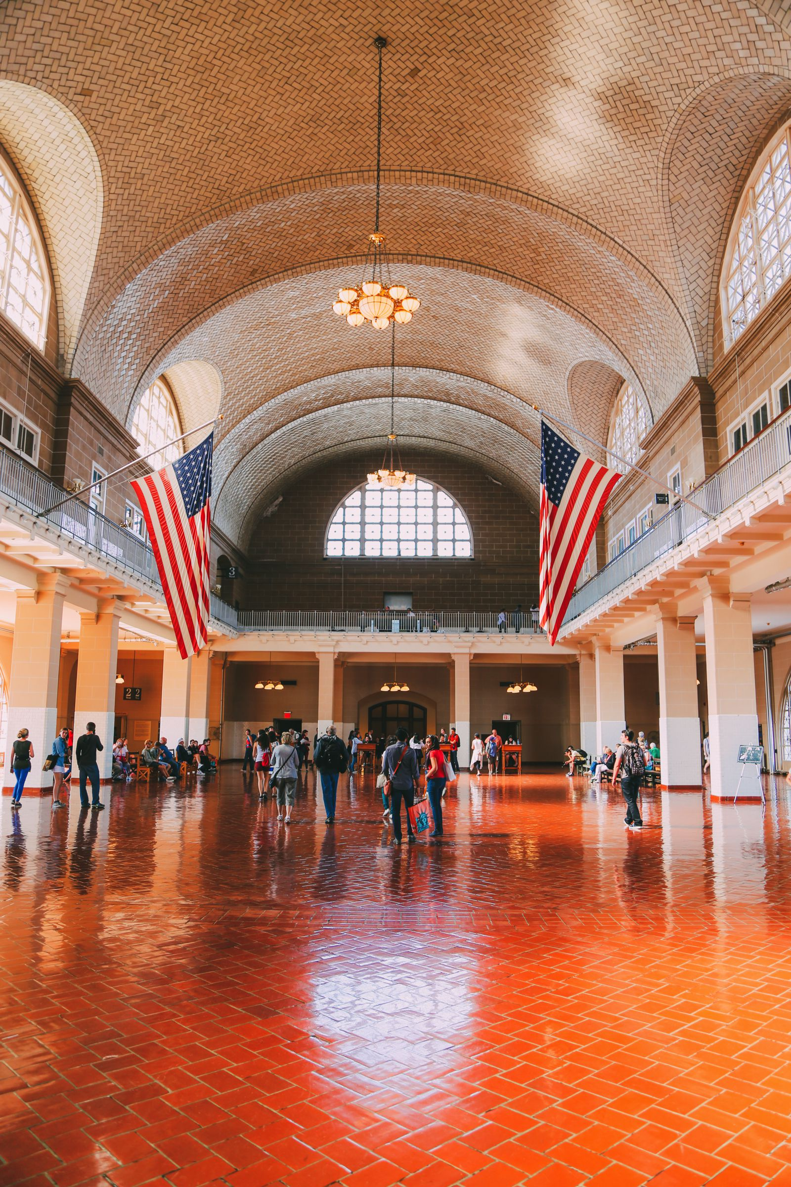 Exploring Ellis Island In New York City (5)
