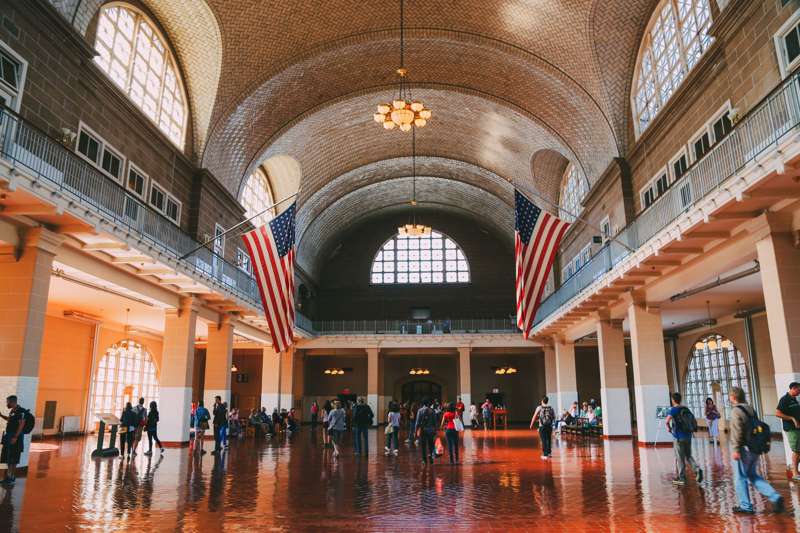 Exploring Ellis Island In New York City (6)