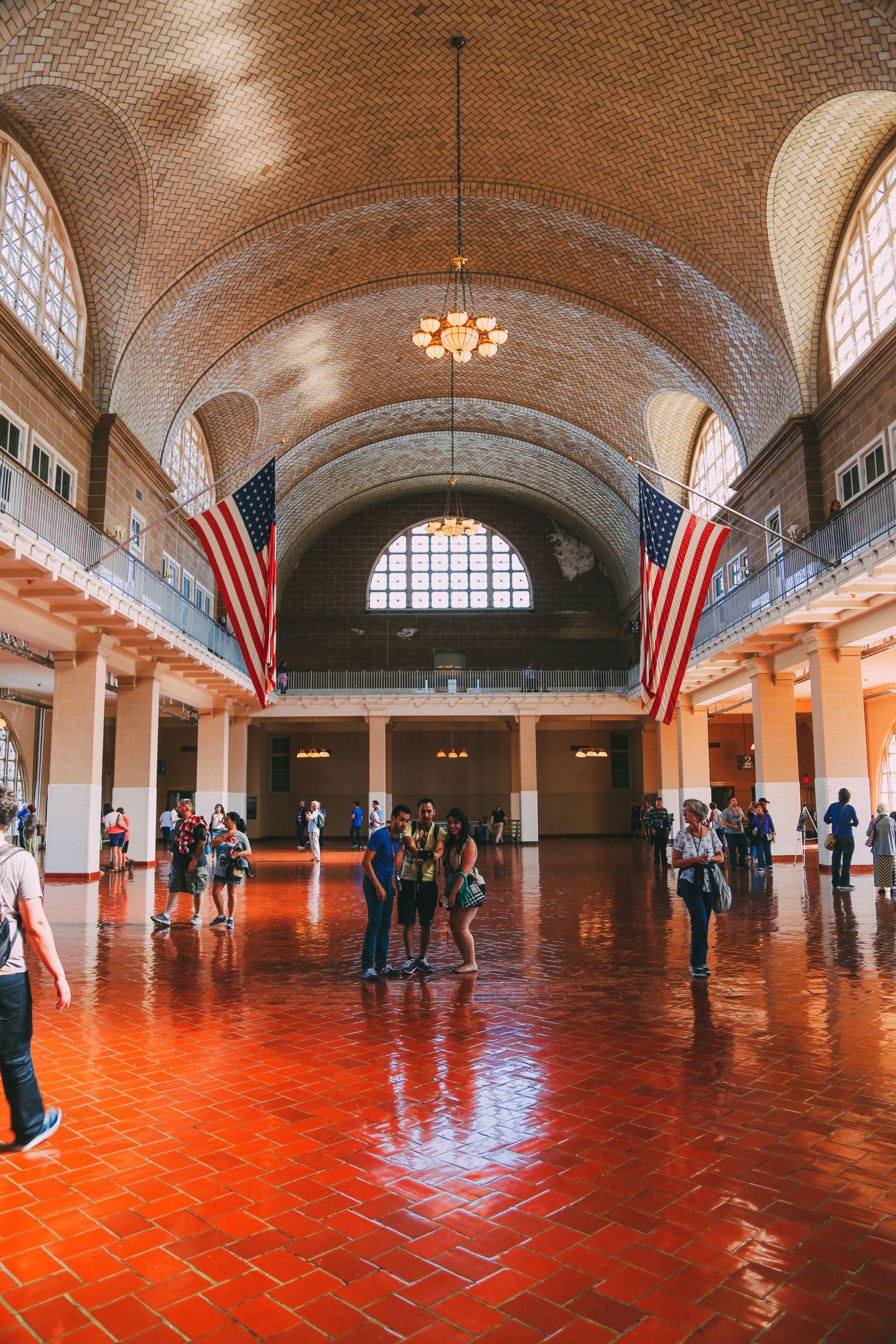 Exploring Ellis Island In New York City (7)