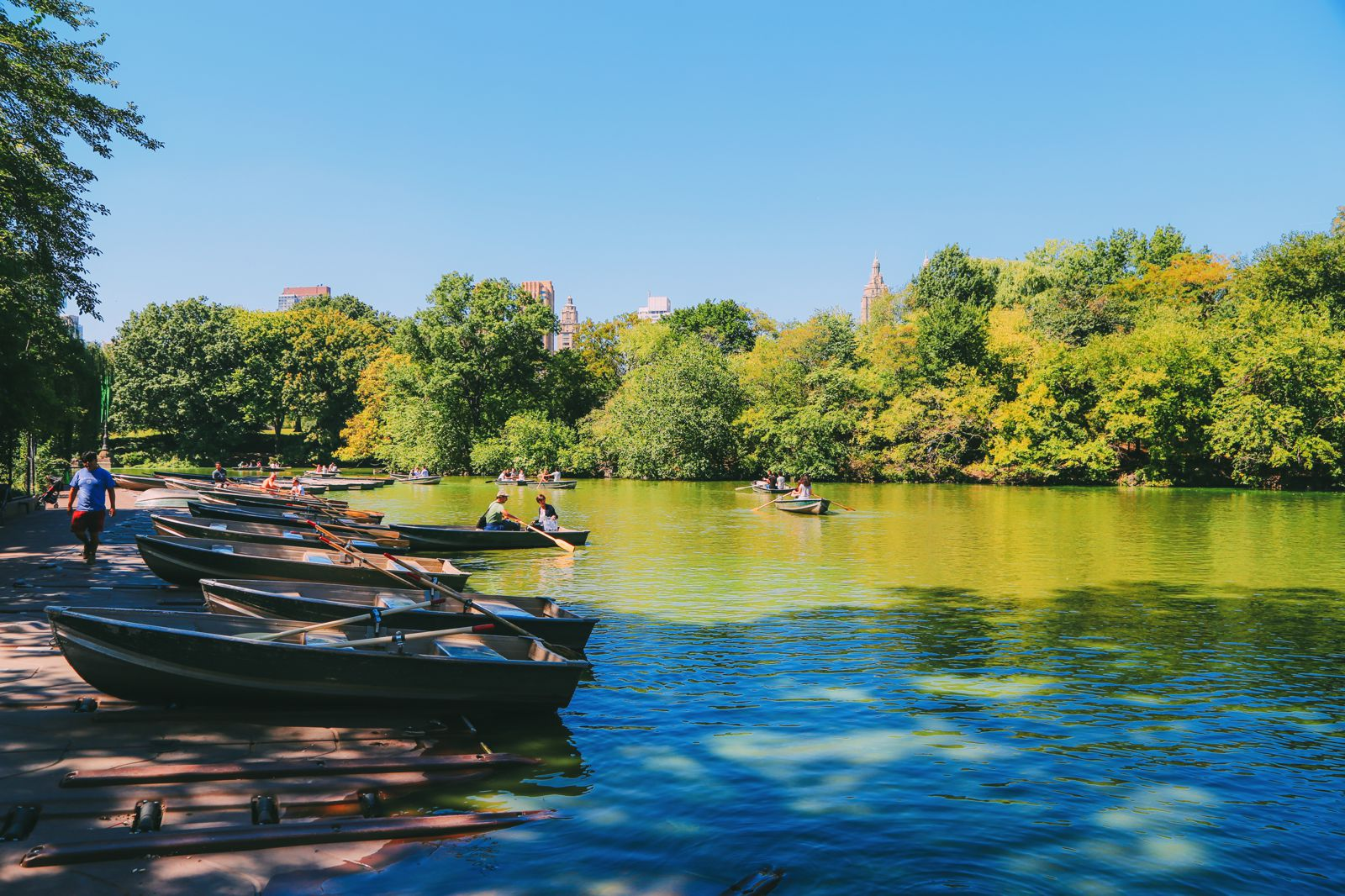 Boating at the Loeb Boathouse in Central Park, New York City (2)