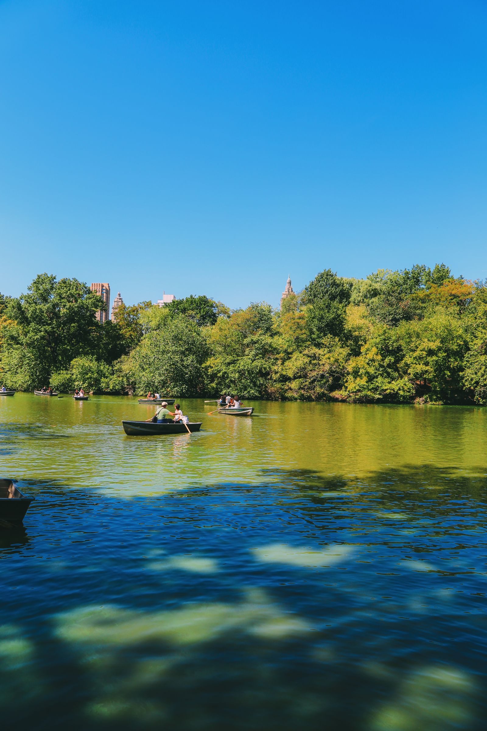 Boating at the Loeb Boathouse in Central Park, New York City (3)