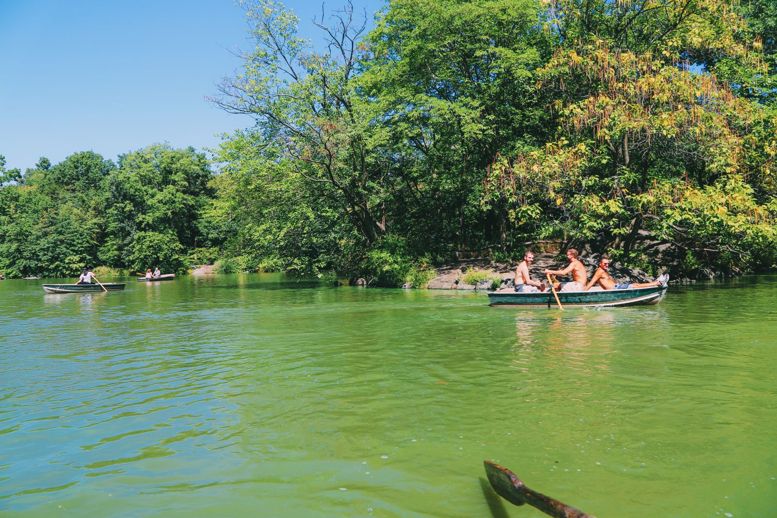 Boating at the Loeb Boathouse in Central Park, New York City (10)