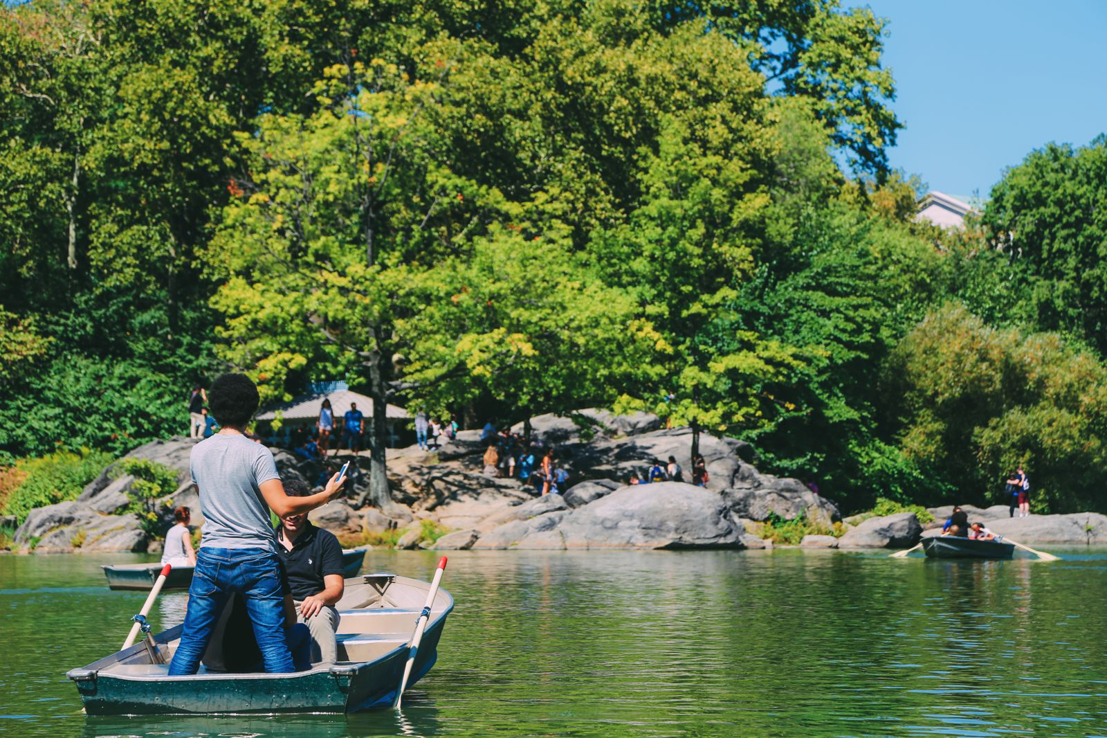 Boating at the Loeb Boathouse in Central Park, New York City (21)
