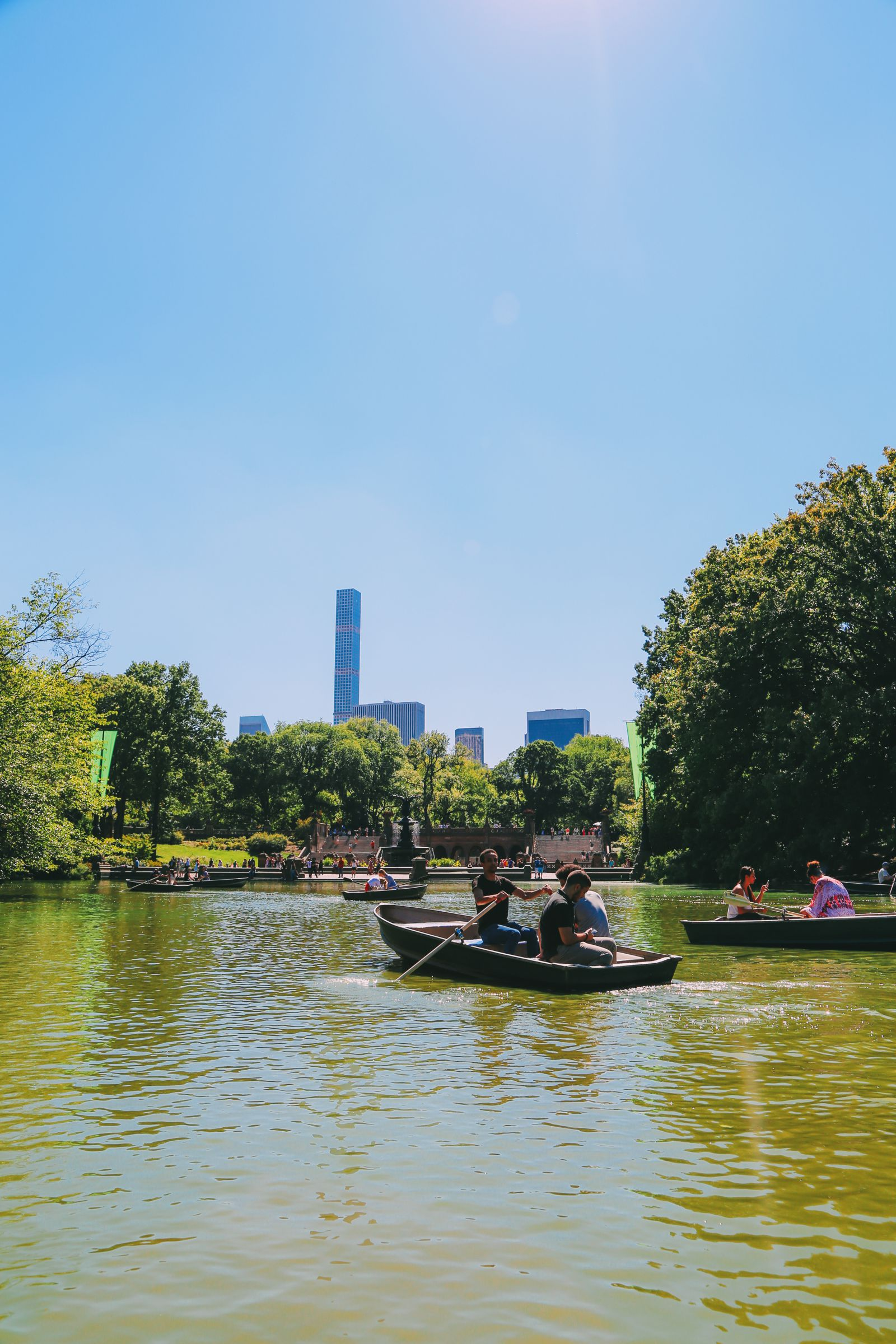 Boating at the Loeb Boathouse in Central Park, New York City (23)