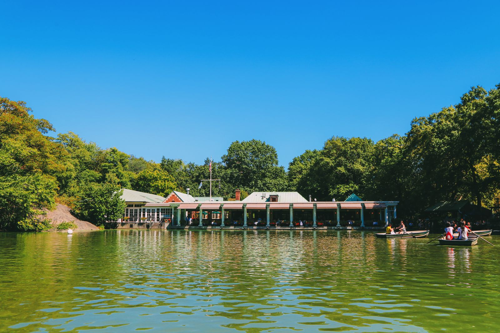 Boating at the Loeb Boathouse in Central Park, New York City (27)