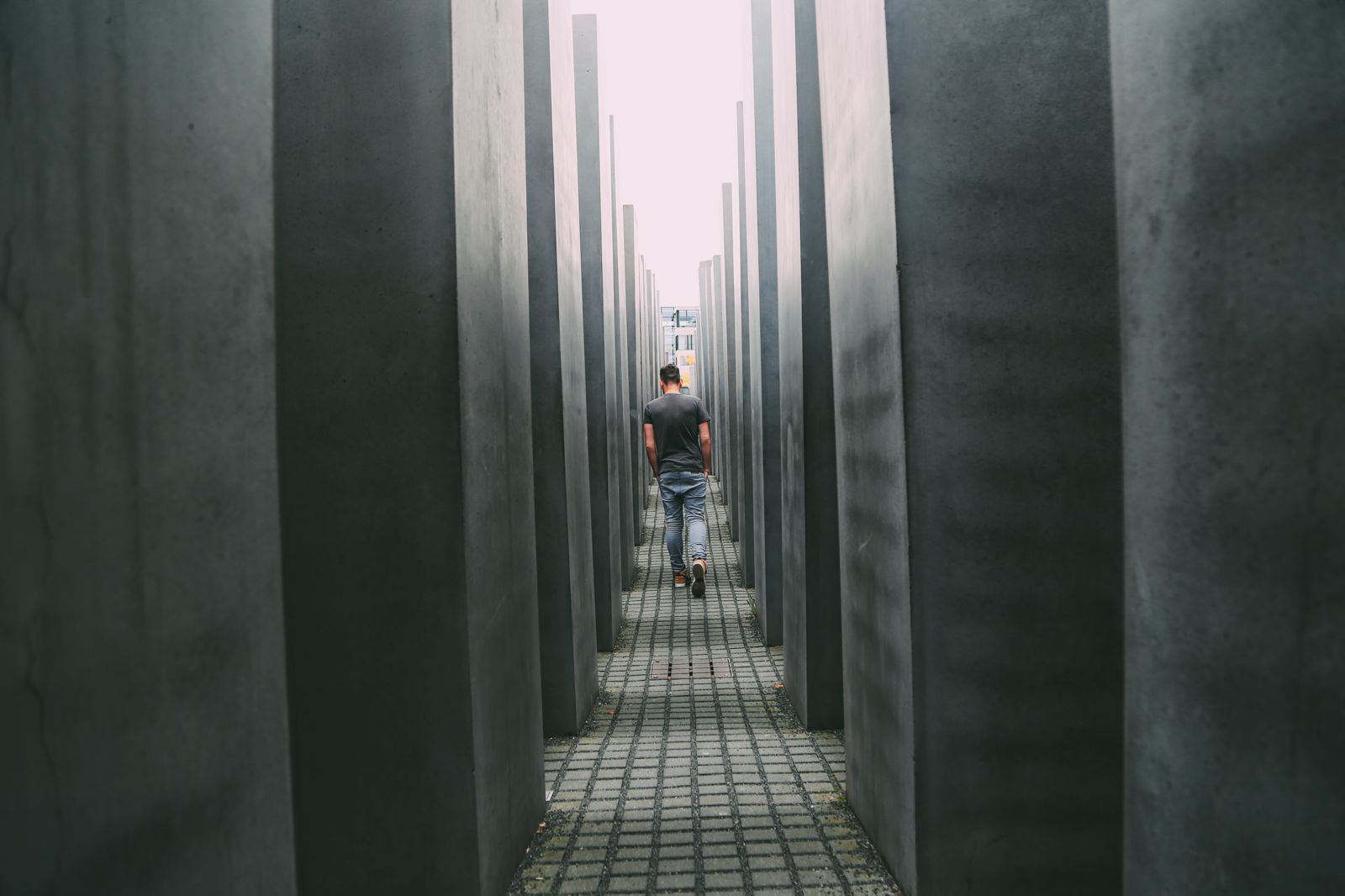A Memoir To The Fallen - The Holocaust Memorial Also known as the Memorial to the Murdered Jews of Europe (7)