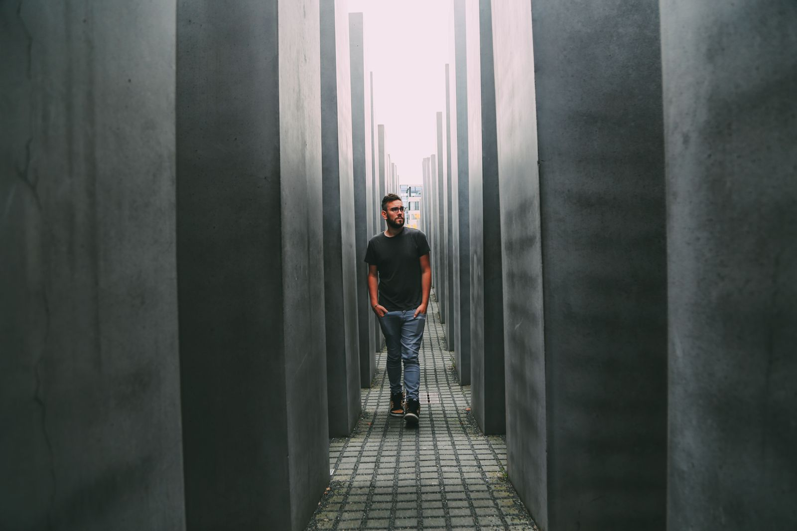 A Memoir To The Fallen - The Holocaust Memorial Also known as the Memorial to the Murdered Jews of Europe (8)