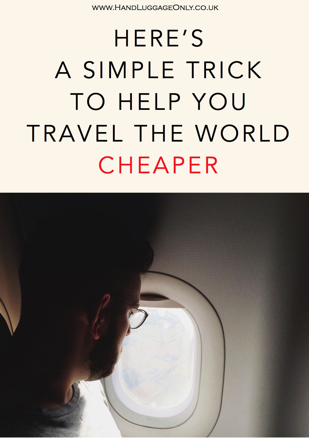 Here's A Very Simple Idea To Help You Travel The World More Affordably!