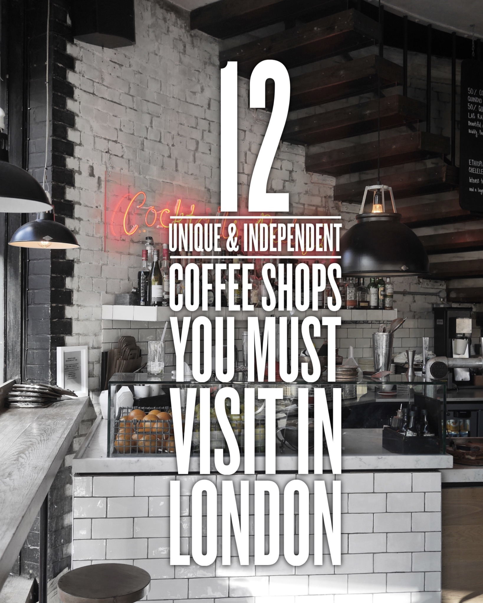 12 Unique And Independent Coffee Shops You Must Try In London (22)
