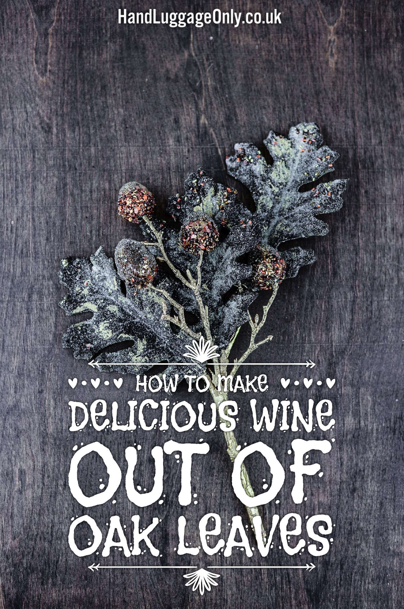 How To Make A Delicious Wine Out Of Oak Leaves (1)